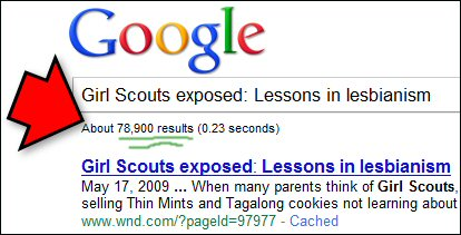 Girl Scouts exposed: Lessons in lesbianism